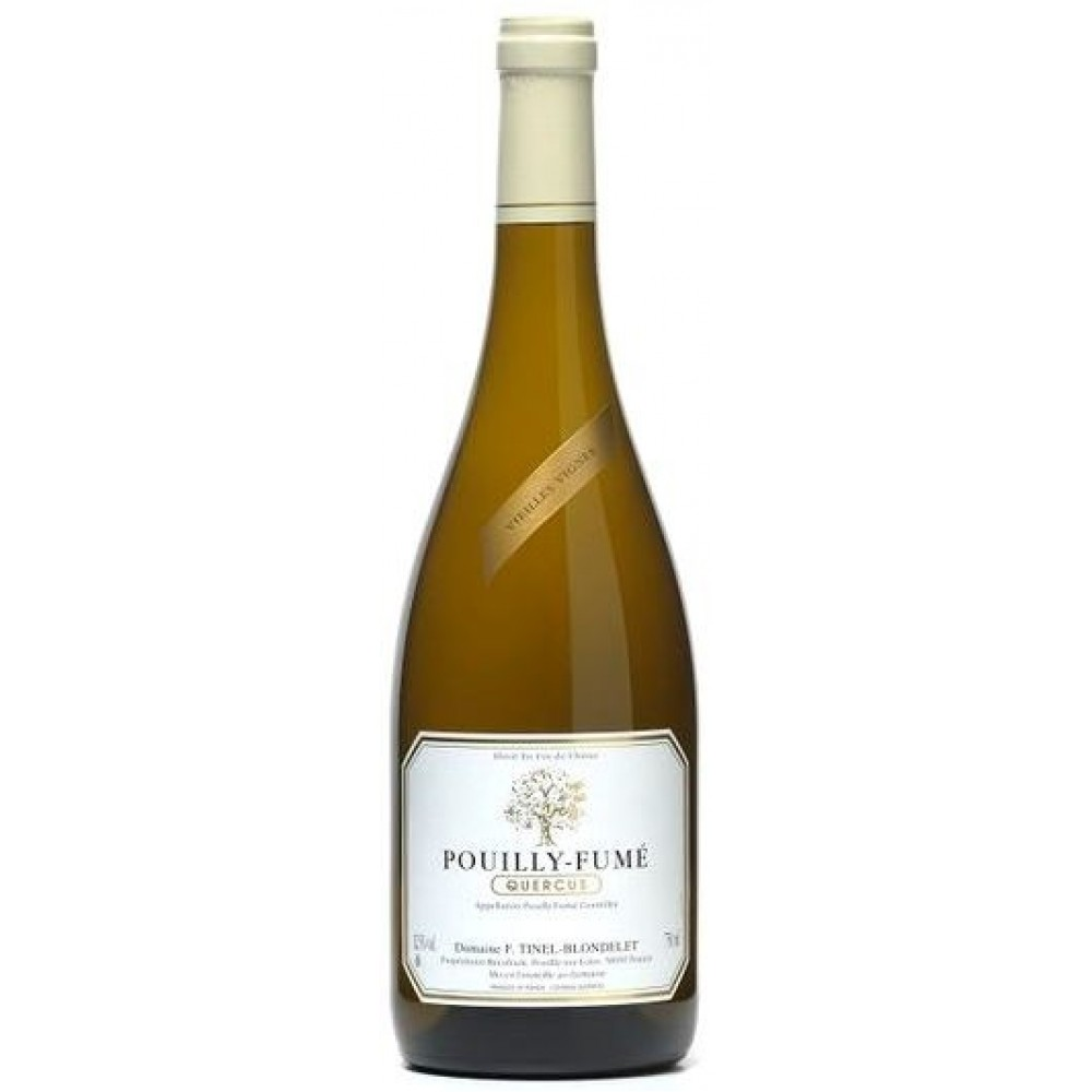 """Dry white grape wine Domaine Tinel-Blondelet, """"Quercus"""", Pouilly-Fume AOC 0.75, 2015"""